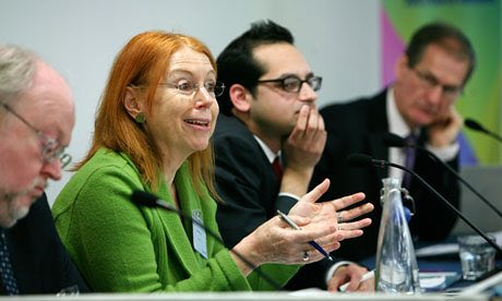 Heather Fry, Hefce's director (education and participation) speaks at last year's Future of Higher Education summit. Photograph: Anna Gordon