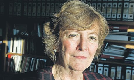 Dame Julia Higgins of Imperial College, London Photograph: Martin Argles/Guardian