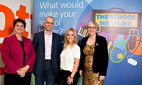 The judges: celebrating creativity in the School We'd Like competition
